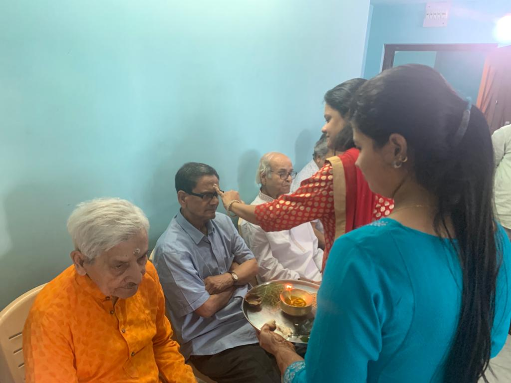 Vaifota Celebration in Shibasram Old age home